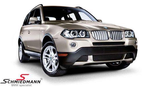 Forlygte sæt komplet m. hvide blink original BMW