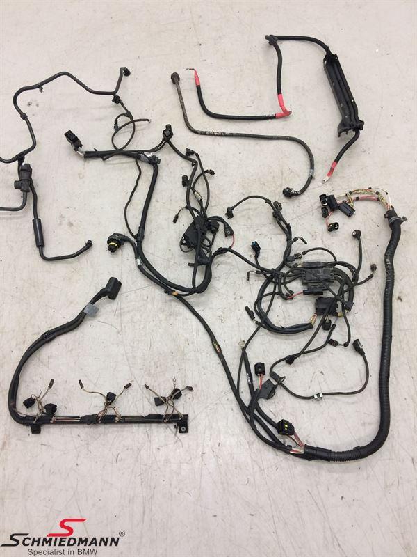 engine wiring harness - 12537598008, 12 53 7 598 008, 7598008, c43228  schmiedmann