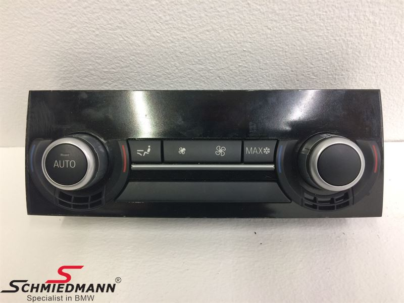 Climate Control Panel Rear models with 4 zone klima