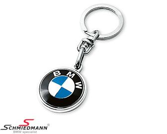 Keyring with BMW logo