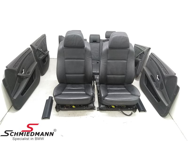 Comfort Leather Interior Black