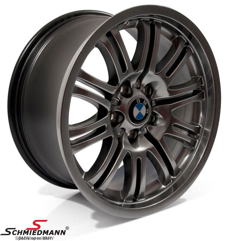 "18"" M Doppelspeiche 67 set (4 pcs.)(Chromshadow), Rims 8X18 ET47+9X18 ET26 (original BMW M3) Sale, never seen cheaper!"