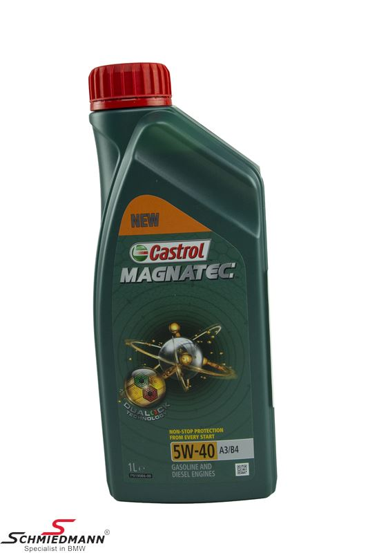 Motoroil Castrol 5W40 Magnatec C3 fully synthetic 1 liter can