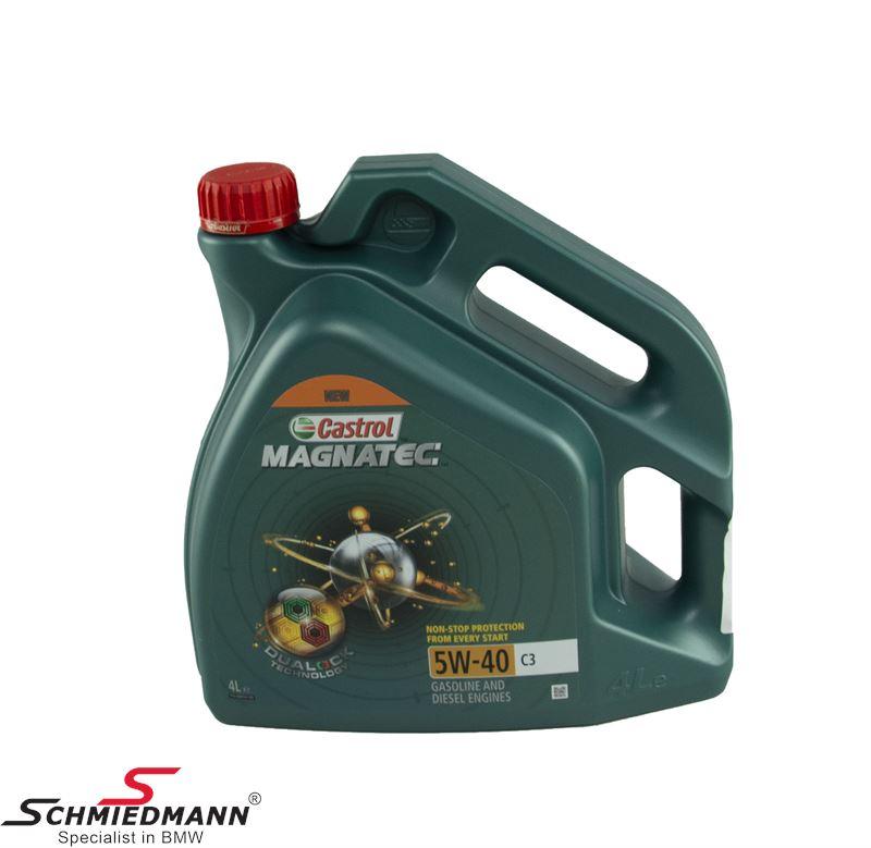 Motorolie Castrol 5W40 Magnatec C3 fuldsyntetisk 4 liter dunk