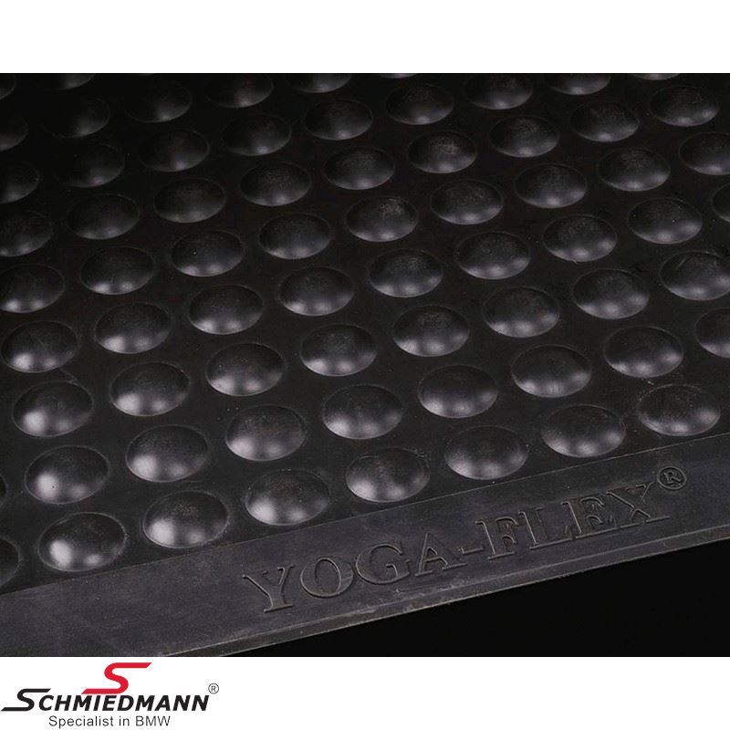 Rubbermat Yoga Flex 90X90CM 13MM black