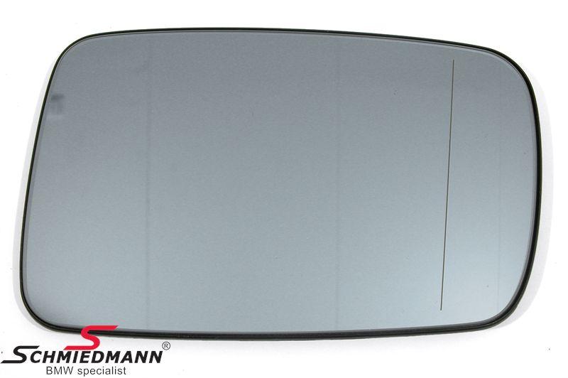 Speilglass med varme H.-side