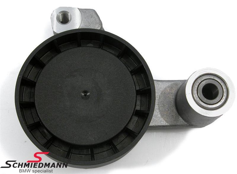 Belt tensioner wheel powersteering/alternator belt