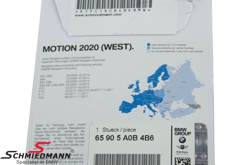65-90-5-A0B-4B6 65905A0B4B6 65 90 5 A0B 4B6 5A0B4B6  Navigation Business update-USB Motion Europe 2020