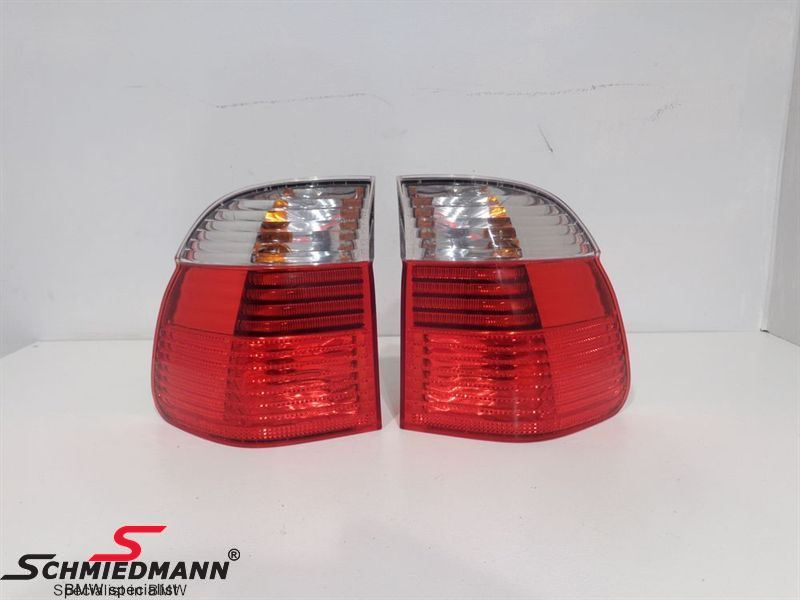 A57624  Taillights red/white