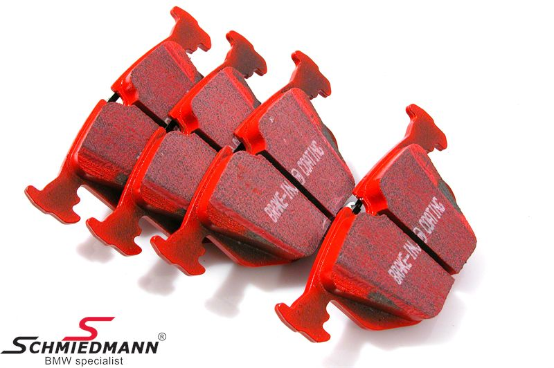 Racing brake pads rear EBC red stuff (for the street and extreme driving)