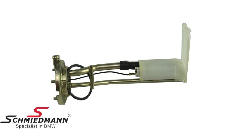Benzinpumpe, den første der er monteret i tanken inkl. sugeanordning