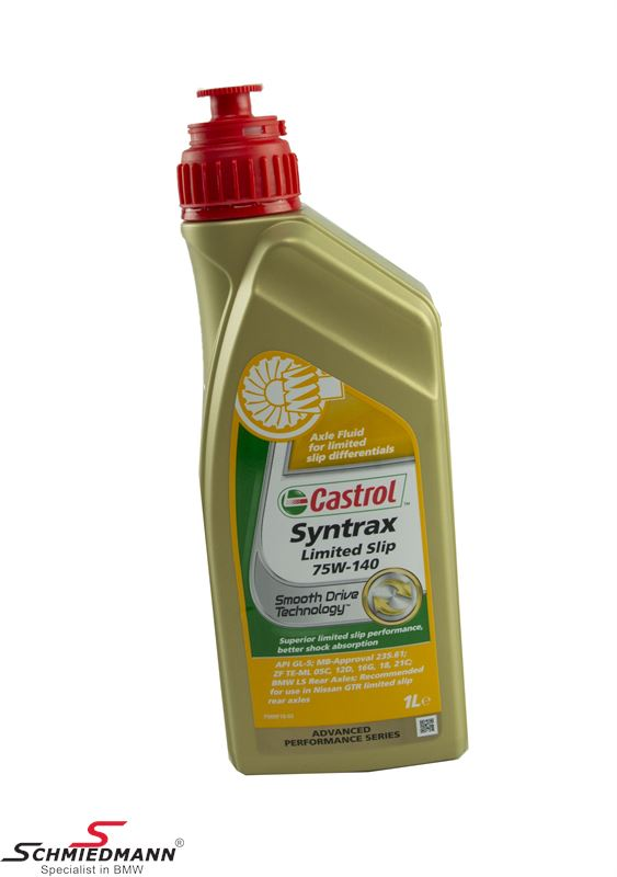 Castrol final drive oil syntrax limited slip 75W/90 1 litre