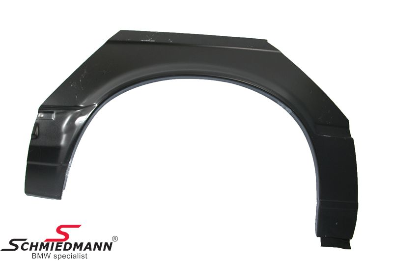 Rearfender outside part R.-side 2door year -09/87