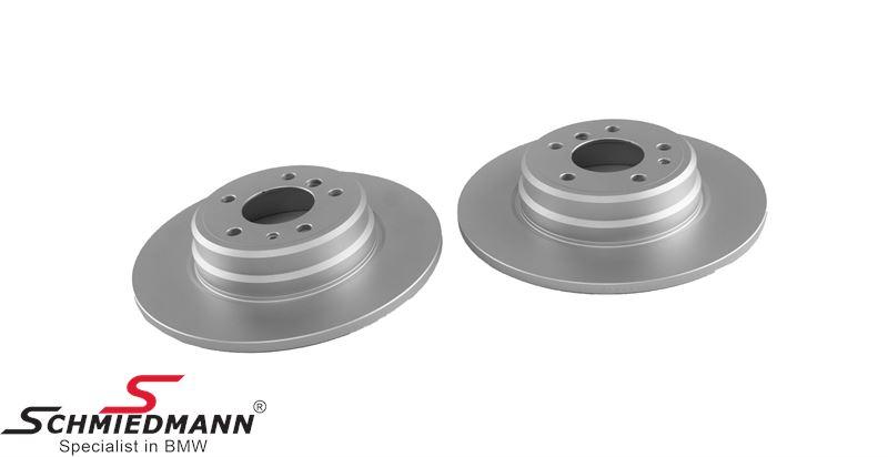 Brake discs rear solid 324X12MM