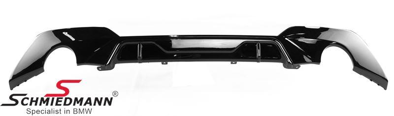 Rear apron trimpanel -Motorsport I- Gloss-Black