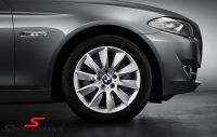 "18"" Turbinenstyling 329 original BMW rims with 245/45/18 Runflat Dunlop SP Wintersport 3D ROF winter tyres"