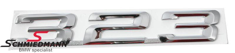 """Emblem trunk lid """"323"""""""