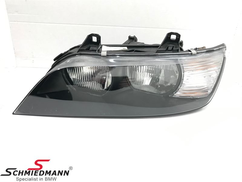 C44356 63122493725 63 12 2 493 725 2493725  Headlight with White turn indicator L.-side (1000 km)