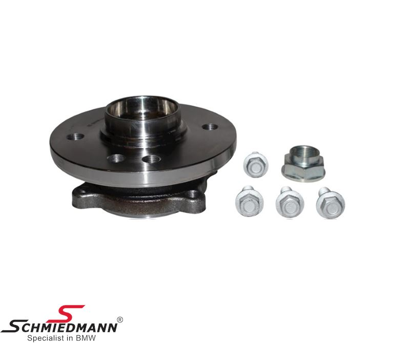Wheel bearing front, inclusive bolts