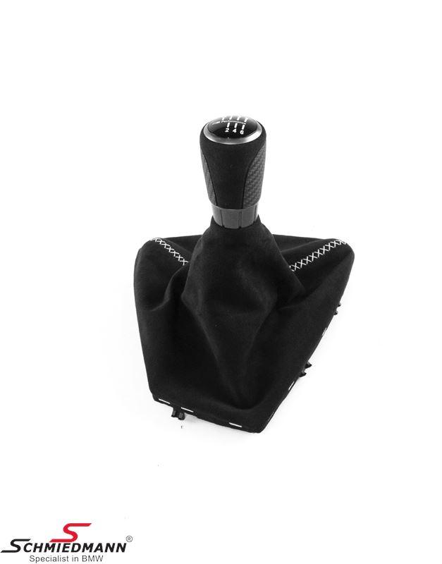 Gearshift knob ///M-Performance with alcantara boot
