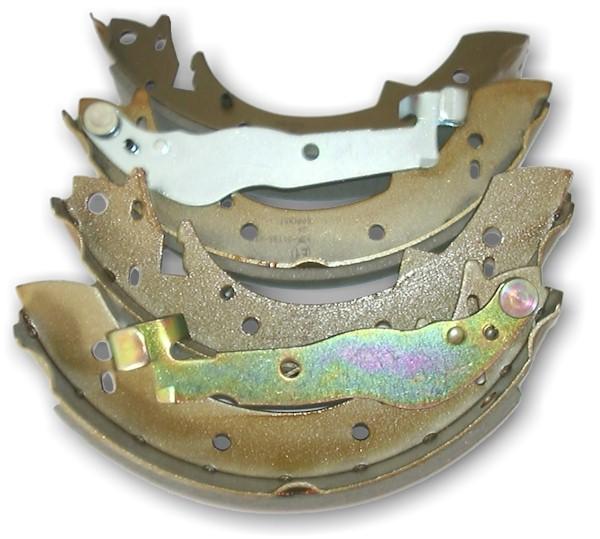 Bremsbacken for Trommelbremse hinten