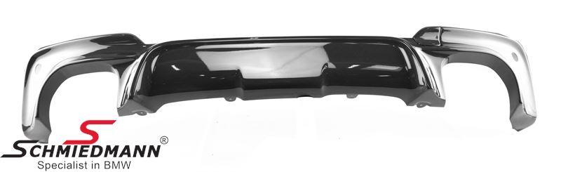 3D Design rear skirt insert for original M50 rear bumper, carbon fiber