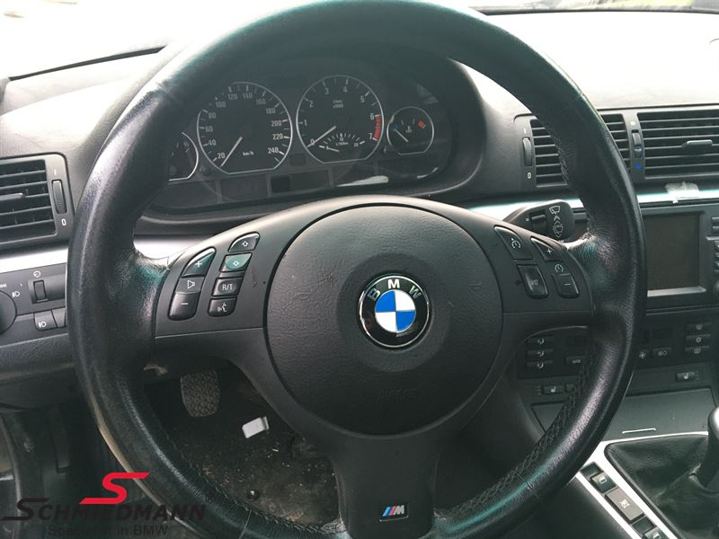 Sport steering wheel leather M-Technic inclusive airbag
