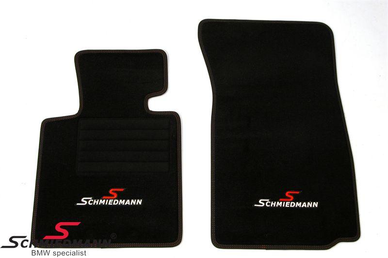 Fussmatten original Schmiedmann -Sport EVO- schwarz