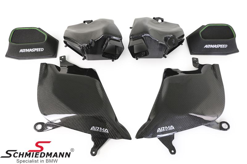 ARMA Speed S63 Gloss Carbon Performance Intake