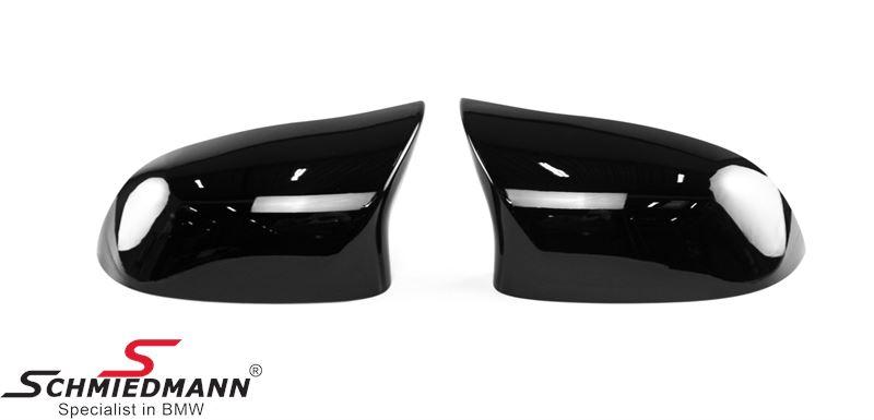 Sidemirror Cover Motorsport Gloss Black R.+L.-side