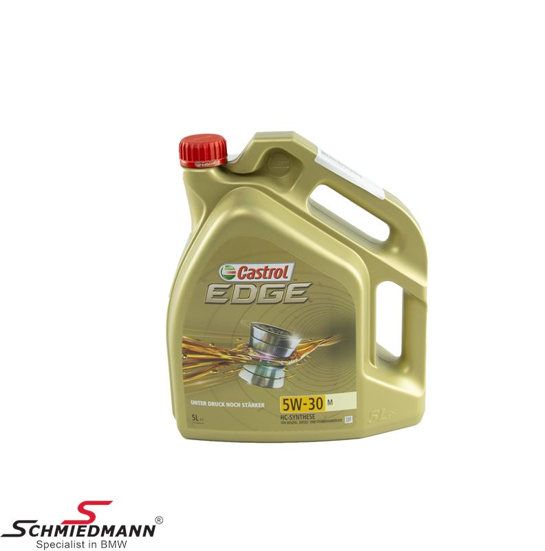 Motoroil Castrol 5W30 Edge M fully synthetic 5 liter can