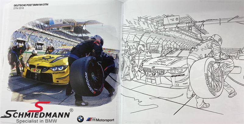 BMW Motorsport Colouring Book