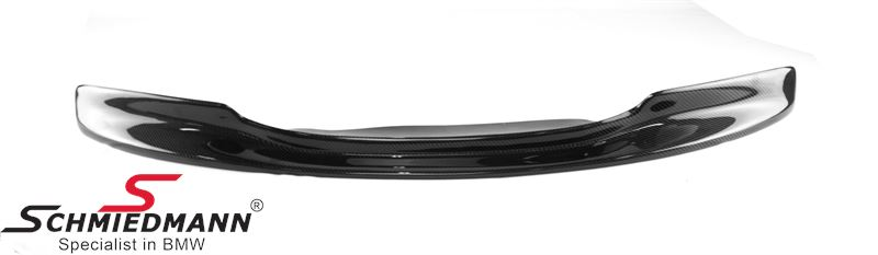 Frontspoilerlippe -Limited Edition- für M3 Frontspoiler echt Carbon