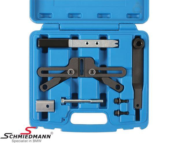 Flywheel locking tool set for M47T2, M57T2, M67, N43, N45, N45T, N46, N46T, N47, N51, N52, N53, N54