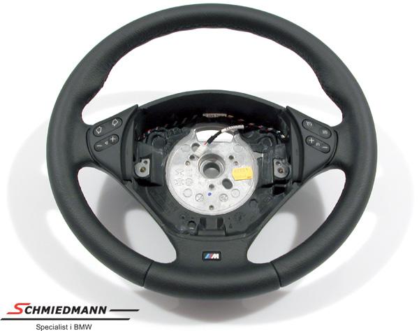 Sportsrat læder M-Technic uden airbag D=379MM