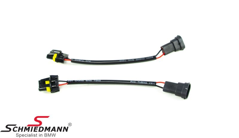 Adaptor wiring set from H8/H9/H11 to HB4