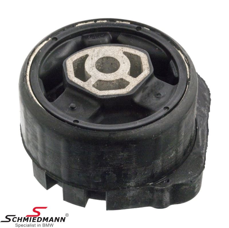 Gearbox rubber mounting