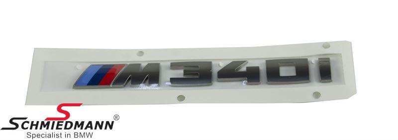 """Emblem trunk lid """"M340I"""""""