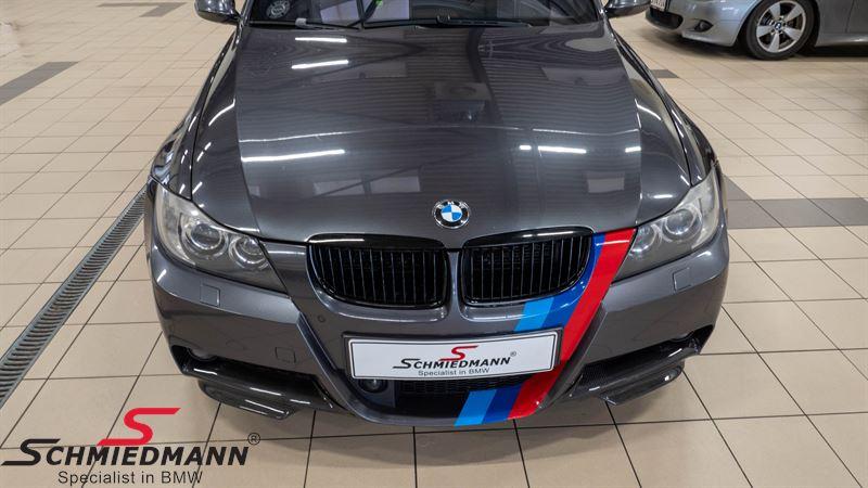 BMW E90 E91 Frontspoiler Lippen Satz echt Carbon für M-Technic Frontspoiler