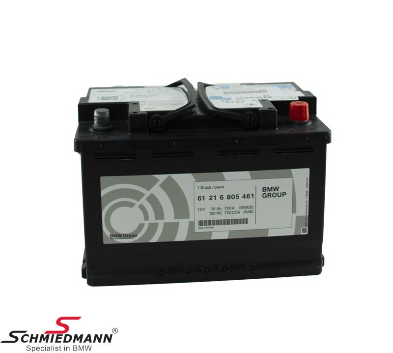 AGM battery original BMW 70AH