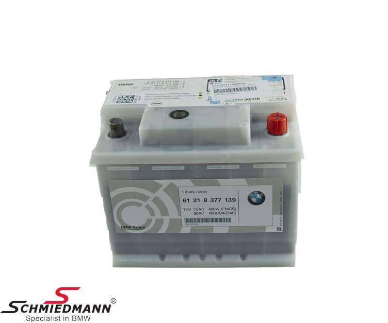 Batteri 55AH original BMW