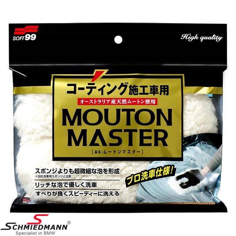 Soft99 soft washing glove in wool