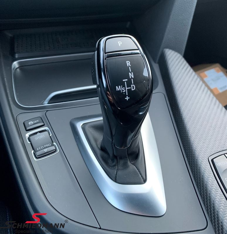 Ceramic black glazed cover for the gearshifter (Sports-auto 2TB)