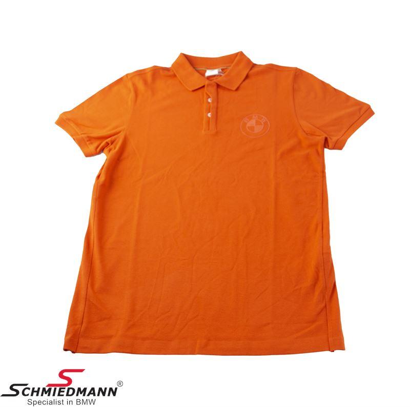 Poloshirt, Men´s Orange color, Size L