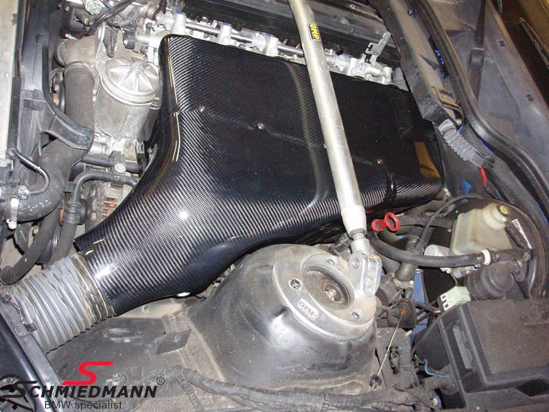 Carbon airbox system 2-delt made in Germany