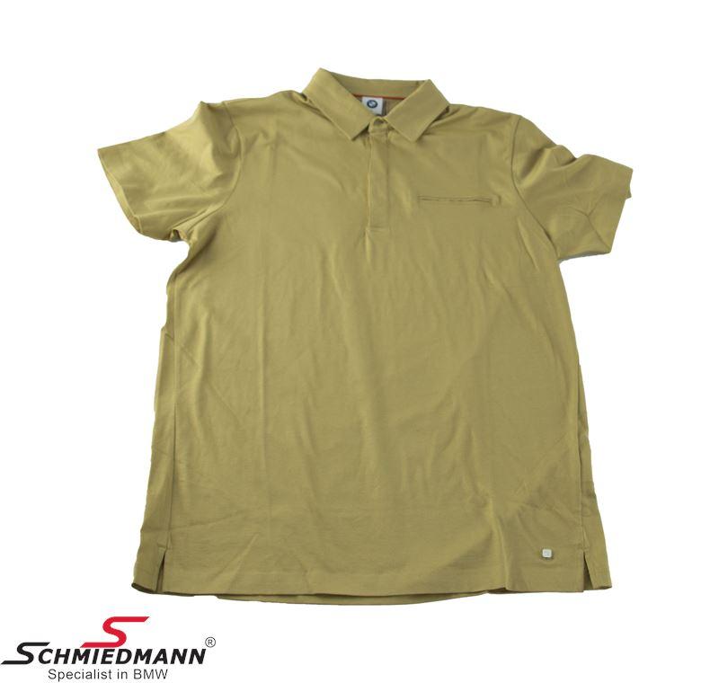 Poloshirt, Men´s sand color, Size L