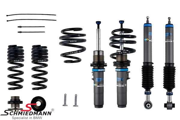 Coilover kit -BILSTEIN EVO T1- hight/ rebound adjustable front+rear 30-50MM