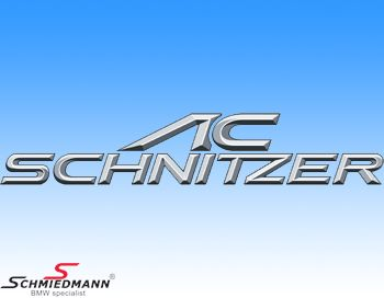 AC Schnitzer Logo Folie ca. 600x113MM