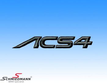 AC Schnitzer logo klistermärke -ACS4-
