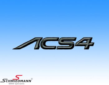 AC Schnitzer logo sticker -ACS4-